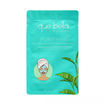 Purifying Tea Tree & Witch Hazel Mud Mask by que bella