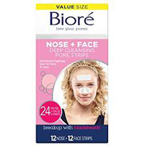 Nose + Face Deep Cleansing Pore Strips Combo Pack by Bioré