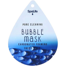 Pore Cleaning Charcoal Bubble Mask Facial Treatment by my spa life