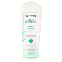 Clear Complexion Cream Face Cleanser With Salicylic Acid by Aveeno