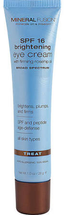 SPF 16 Brightening Eye Cream by mineral fusion