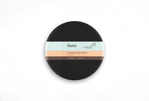 Healing Lip Balm Orange + Vanilla by Ilana Organics