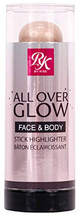 All Over Glow Face Body Stick Highlighter Bronzer by Ruby Kisses
