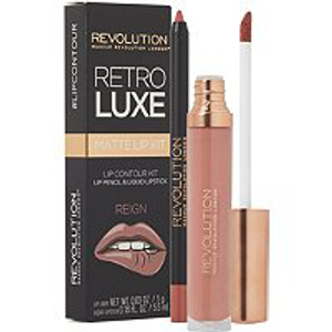 Retro Luxe Matte Lip Kit by Revolution Beauty