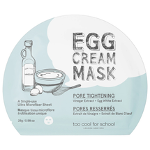 Egg Cream Mask by too cool for school