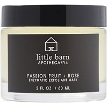 Passion Fruit Rose Enzymatic Exfoliant Mask by little barn apothecary