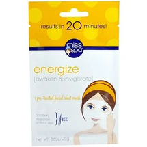 Energize 1 Pre-Treated Facial Sheet Mask by miss spa