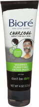 Charcoal Whipped Purifying Detox Mask by Bioré