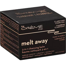 Cleansing Balm 3-In-1 Melt Away Clarifying Charcoal by The Creme Shop