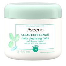 Clear Complexion Daily Cleansing Pads by Aveeno
