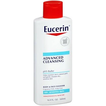 Advanced Cleansing Body & Face Cleanser by eucerin