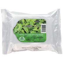 Makeup Remover Cleansing Tissues - Green Tea by beauty treats