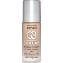 Skin Caring Foundation SPF 15 by exuviance
