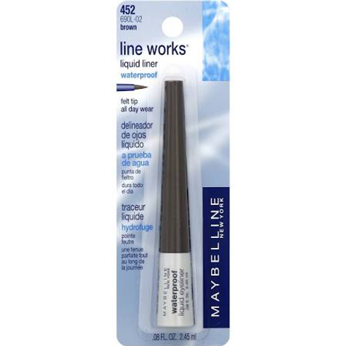 Line Works Liquid Liner by Maybelline