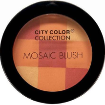 Mosaic Blush - Coral Glow by city color