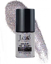 Mineral Base Loose Powder Sparklingglitter Eye Shadow Pigment by J.Cat Beauty