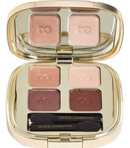 Smooth Eye Color Quad Eyeshadow Contrasts 140 Compact by Dolce & Gabbana