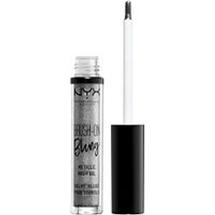 Brush on Bling Metallic Brow Gel by NYX Professional Makeup