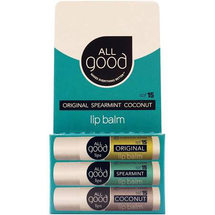 Three Pack Lips SPF 15 by all good