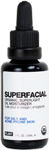 SUPERFACIAL Organic, Superlight Oil Moisturizer for Oily Skin by Plant Apothecary