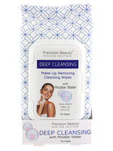 Make Up Removing Cleansing Wipes Micellar Water by precision