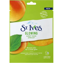 Glowing Apricot Face Mask Sheet by st ives