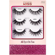 All Eyes On You Assorted Lashes Holiday by kiss products