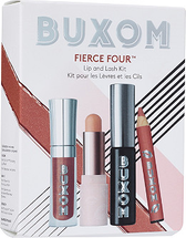 Fierce Four Lip And Lash Kit by Buxom