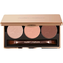 Natural Illusion Eye Shadow Trio - Rose by Nude by Nature