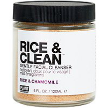 RICE & CLEAN Gentle Facial Cleanser by Plant Apothecary