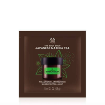 Japanese Matcha Tea Pollution Clearing Mask Packette by The Body Shop