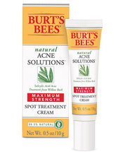 Natural Acne Solutions Maximum Strength Spot Treatment Cream by Burt's Bees