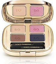 Smooth Eye Color Quad Eyeshadow Divine 147 Compact by Dolce & Gabbana