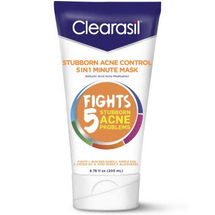 Stubborn Acne Control 5 in1 One Minute Face Mask by clearasil