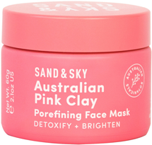 Australian Pink Clay Porefining Face Mask by Sand And Sky