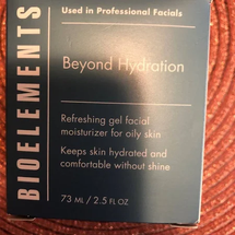 Beyond Hydration New Face by bioelements