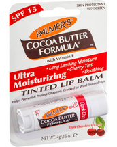 Formula Lip Balm Tinted With Vitamin Dark Chocolate by palmers