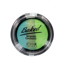 Baked Terracotta Trio Eyeshadow - Sparkle Forest by Nicka K