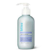 Pore Patrol Clay To Foam Purifying Cleanser by bliss