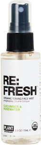 RE: FRESH Organic Toning Mist by Plant Apothecary
