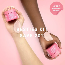 Australian Pink Clay Mask Besties Kit by Sand And Sky