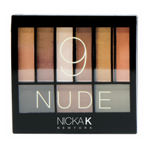 Perfect 9 Nude Eyeshadow Palette by Nicka K
