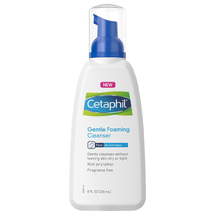Gentle Foaming Cleanser by cetaphil