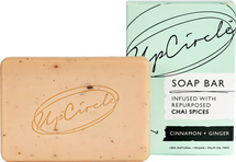 Cinnamon + Ginger Chai Soap Bar For Face And Body by UpCircle