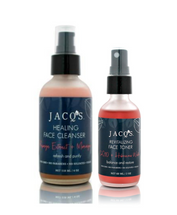 Healing Face Cleanser + Toner Skincare Duo by Jacq's
