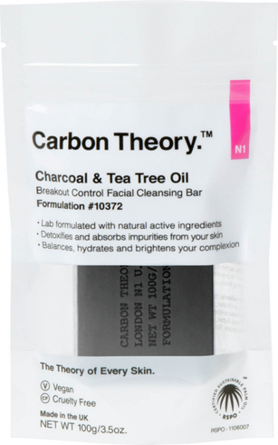 Charcoal & Tea Tree Oil Break-Out Control Facial Cleansing Bar by Carbon Theory #2