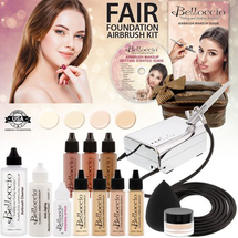 Professional Beauty Airbrush Cosmetic Makeup System - Fair by belloccio