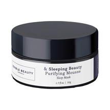 Sleeping Beauty Purifying Mousse Pink Clay Sleep Mask by Edible Beauty