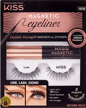 Magnetic Eyeliner & Lure Lash Kit by kiss products