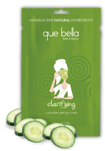 Clarifying Cucumber Peel-Off Mask by que bella